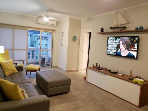 Apartamento Com 3 Dormitórios À Venda, 96 M² Por R$ 430.000,00 - Enseada - Guarujá/sp - Ap6352