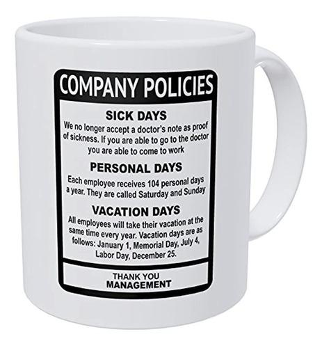 Politicas De Wampumtuk Company Oficina De Trabajo Del Emple