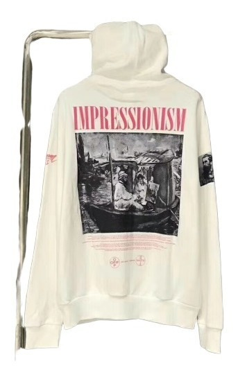 Off White Hoodie Virgil Abloh Ss19 Impressionism Monet