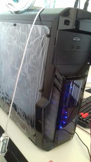 Pc Gamer I5-7400 Gtx 1050 Ti 4 Gb.setup Completo Ou Só O Pc!