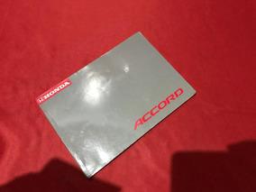 Manual Do Proprietário Honda Accord 97