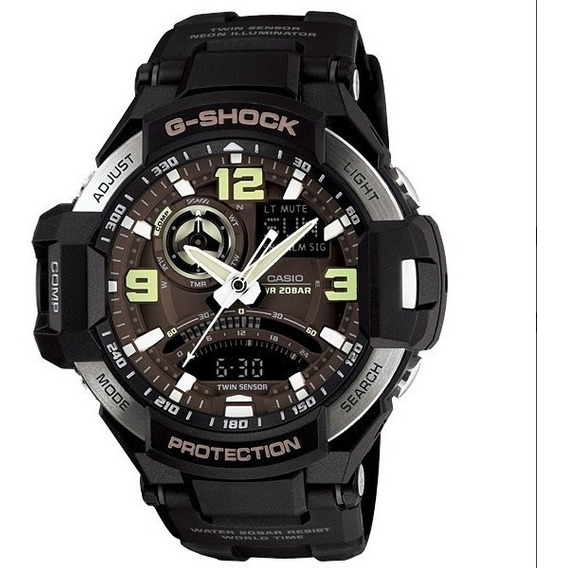 Relógio Casio G-shock Aviation Gravity Master Ga1000