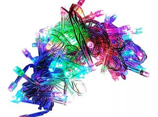 Seríe Navideña Led Multicolor 7mts