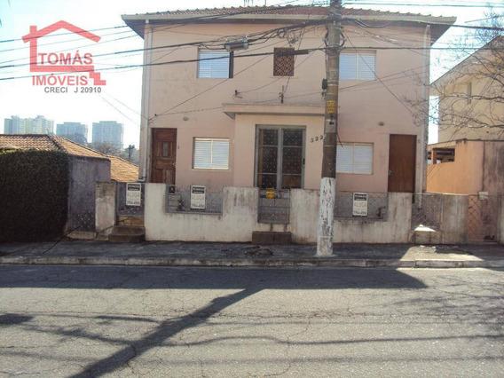 Casa Com 1 Dormitório Para Alugar, 60 M² Por R$ 980/mês - Chácara Inglesa - São Paulo/sp - Ca0806