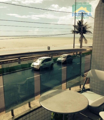 Apartamento Mobiliado Tipo Flat Beira Mar - Venda Ou Locação - Praia De Manaíra - João Pessoa - Pb - Ap0921