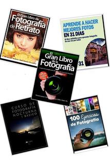 Pack 5 Libros De Fotografia Mega Curso