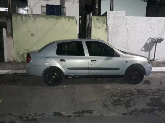 Renault Clio Sedan 2002 1.0 16v Rn 4p