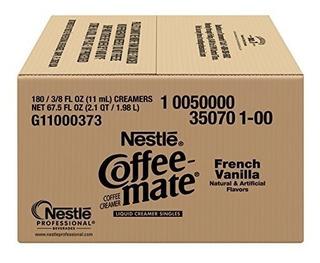 Crema De Café Nestle Coffee-mate, Vainilla Paquete De 180