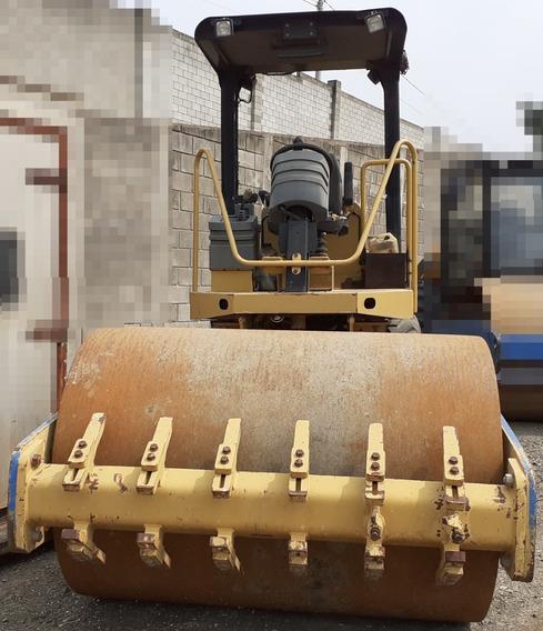 Rolo Compactador Caterpillar Cs423 E - Ano 2009 - Liso