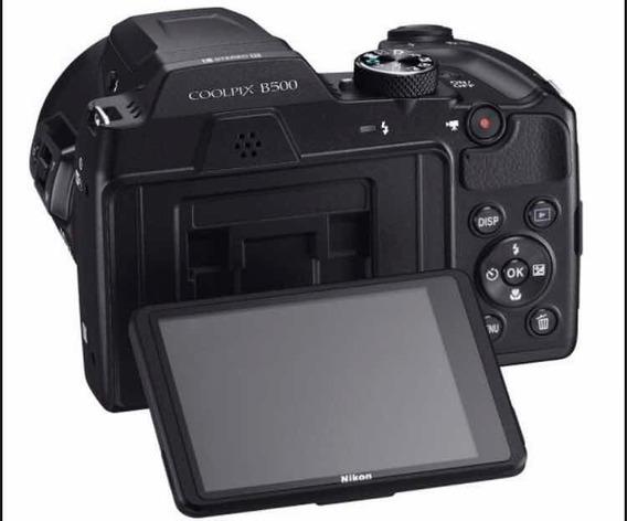 Camara Nikon Coolpix B500 40x Zoom