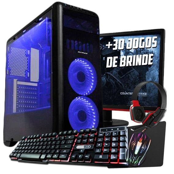 Pc Gamer/ Core I5 7400/ 8gb Ddr4/ 1tb/ Led/ Gtx 1060