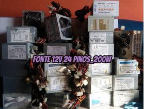 Fonte Pc Atx 12v 24 200w 220w 230w 250w 280w | Pergunte