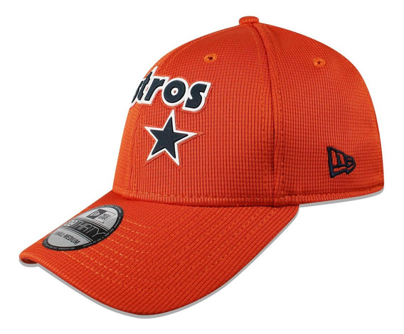 Gorra New Era 39 Thirty Mlb Astros Club House Naranaja