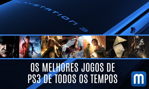 300 Jogos Mídia Digital Ps3 - Baixa Direto No Vídeo Game