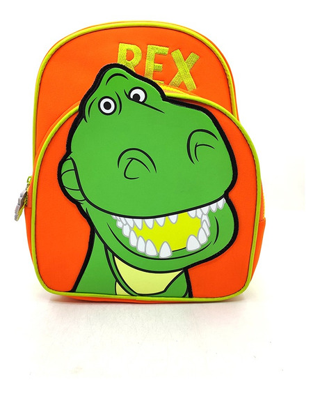 Mochila De Toy Story Dinosaurio Rex 12