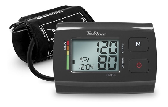 Monitor De Pressão Arterial De Braço Techline Kd-558 Cinza