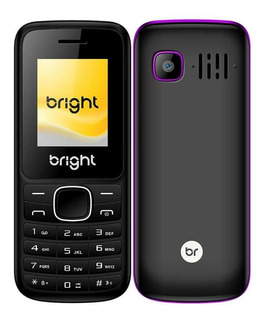 Celular Barra Dual Chip Câmera Mp3 Bluetooth Roxo Bright