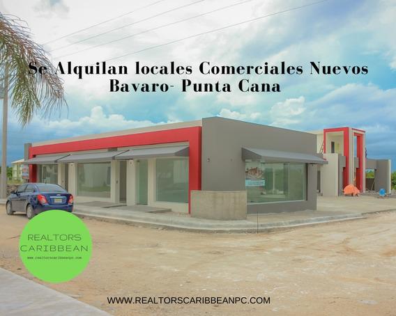 Locales En El Centro De Bávaro-punta Cana 35mt2