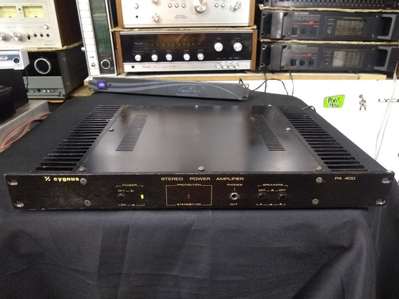 Amplificador De Potência Cygnus Pa400 N Polyvox Gradiente Cc