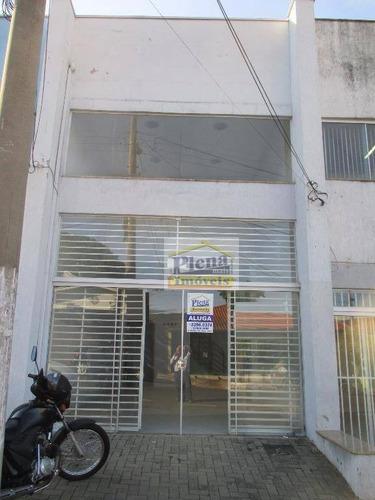 Salão Para Alugar, 70 M² - Centro - Sumaré/sp - Sl0597