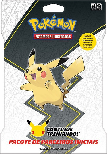 Card Game Pokémon Booster Blister Gigante Pikachu Copag