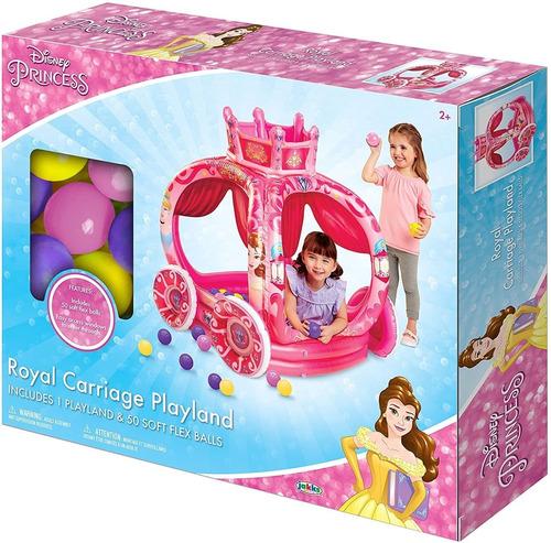 Alberca De Pelotas Carruaje De Disney Princess + 50 Pelotas