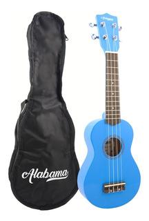 Ukelele Soprano Alabama Us-101 Colores Con Funda - Full