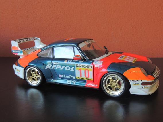 Miniatura Porsche 911 Series Repsol Corrida Azul 1:18 Ut