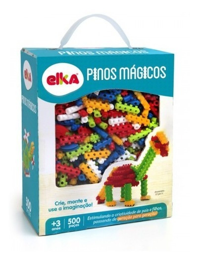 Pinos Mágicos 500 Peças Elka