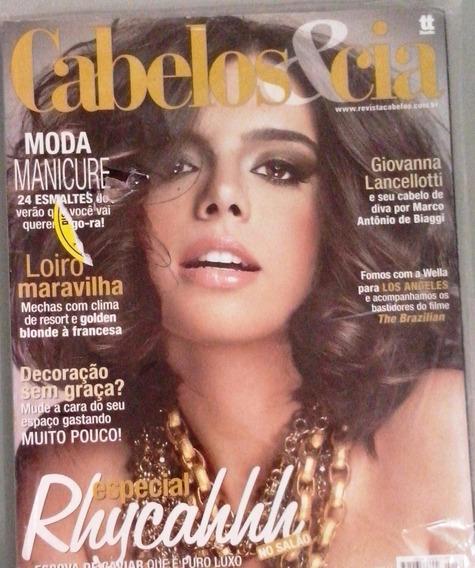 Revista Cabelos E Cia Nº 199 - Especial Rhycahh No Salão