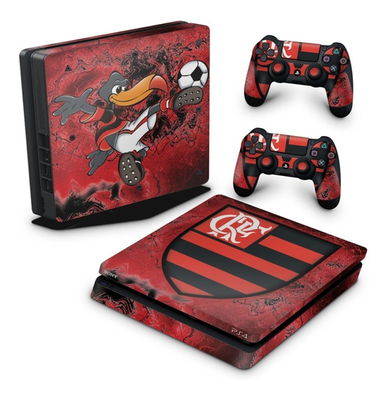 Skin Ps4 Slim Adesivo Playstation 4 Flamengo