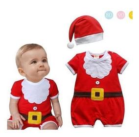 Roupa - Macacão Natal - Papai Noel - Bebês