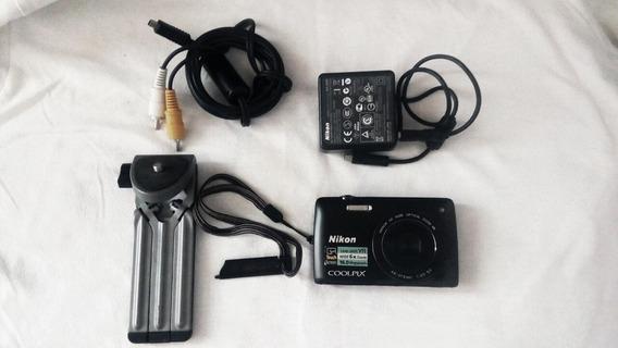Camara Nikon Coolpix 16 Megapixeles