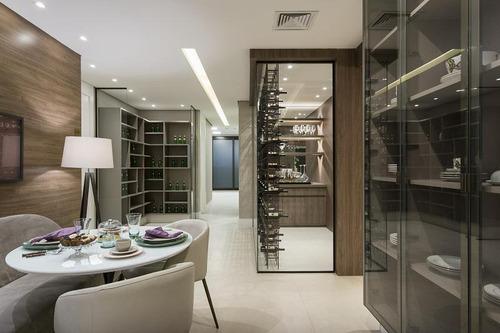 Apartamento Com 4 Dormitórios À Venda, 313 M² Por R$ 2.539.600,10 - Alphaville Empresarial - Barueri/sp - 9518