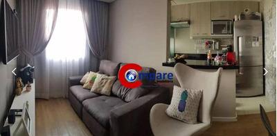 Apartamento Com 2 Dormitórios À Venda, 47 M² Por R$ 215.000 - Jardim Adriana - Guarulhos/sp - Ap7337