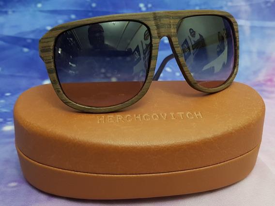Oculos Original Chilli Beans Herchcovitch Estilo Madeira
