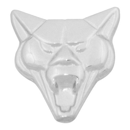 Emblema Dianteiro Bico Capo Metal Cromado Cara Rosto Puma