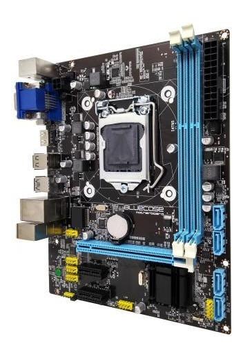 Bmbh81-t Box Ddr3 1150p Rede 10/100/1000 Bluecase - 16gb /