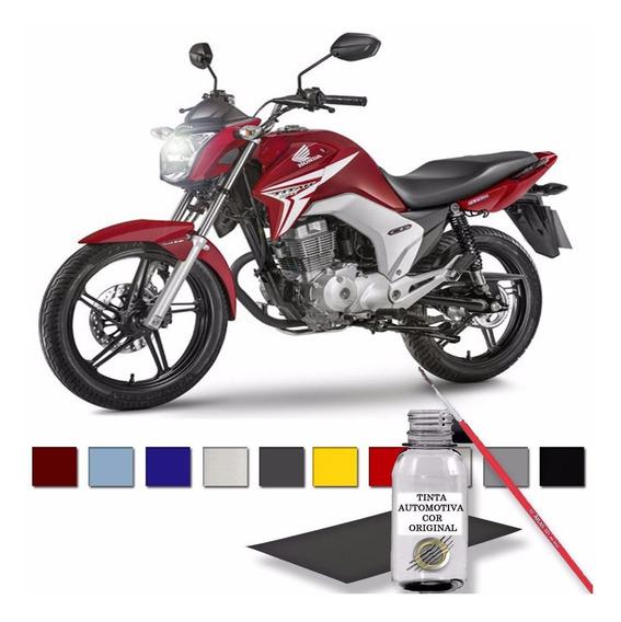 Reparador Automotivo Vermelho Pimenta Metálico Honda Motos