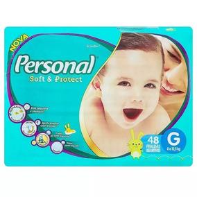 Fralda Infantil Personal Mega 6 Pacotes Tamanho G