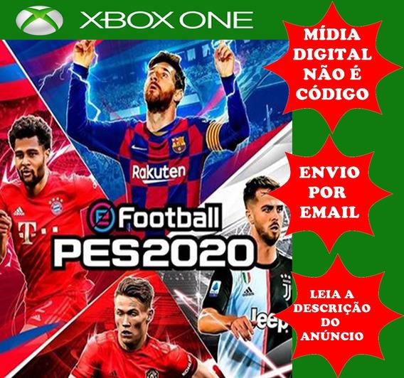 Pes 2020 Xbox One Midia Digital
