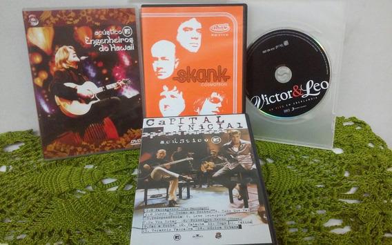 Dvds Rock Nacional - Engenheiros, Skank, Capital Inicial