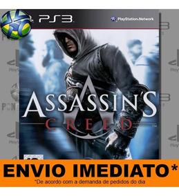 Jogo Ps3 Assassins Creed 1 Psn Play 3 Mídia Digital