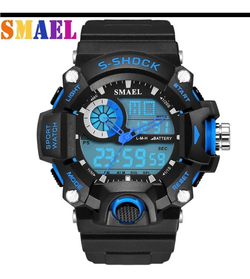 Relógio Masculino Digital/analógico S-shock À Prova D