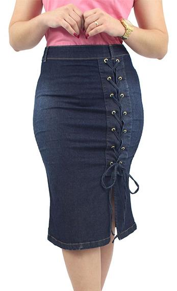 Saias Jeans Com Alta Qualidade Anagrom Até 12x Sem Juros