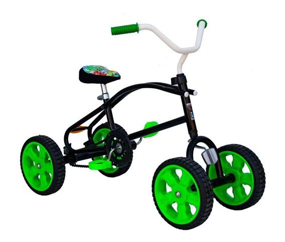 Cuatriciclo Infantil A Pedal Antivuelco A Cadena - Niños 659