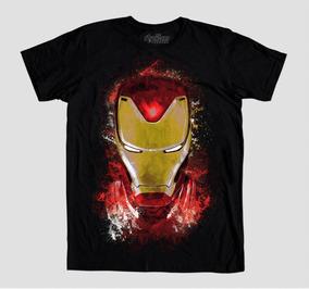 Máscara De Latex Playera Avengers Endgame Iron Man