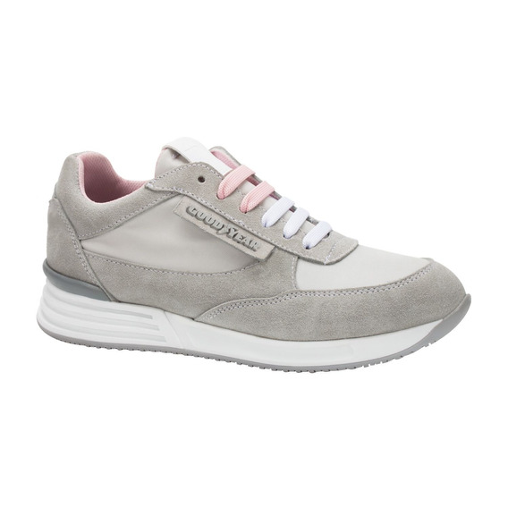 Tenis Casual Con Cuña Goodyear Ab150249 Mujer