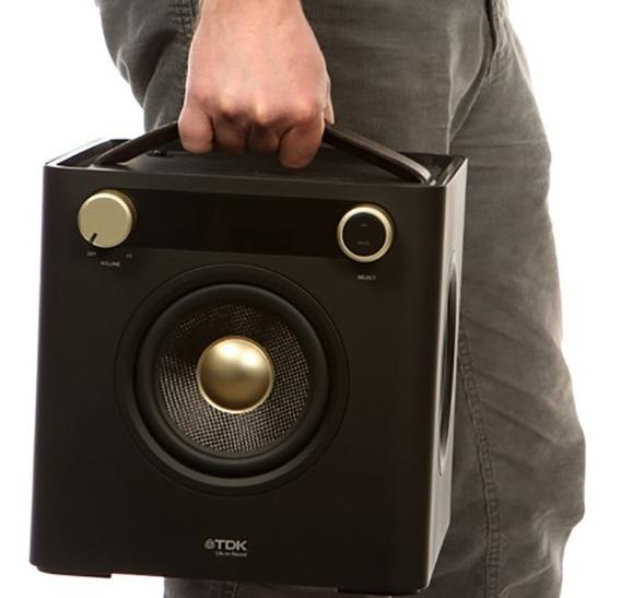 Caixa De Som Docking Station Sound Cube Ap101 Tdk