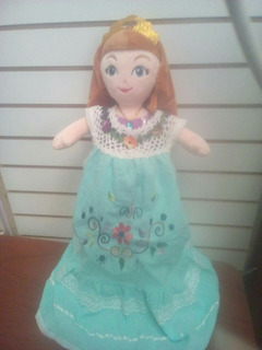 Muñecas Con Vestido Bordado